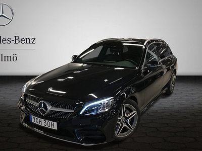 begagnad Mercedes C200 KOMBI AUT AMG NAVI DRAG