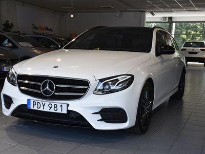 begagnad Mercedes E220 d 9G-Tronic AMG Sport Euro 6 194hk