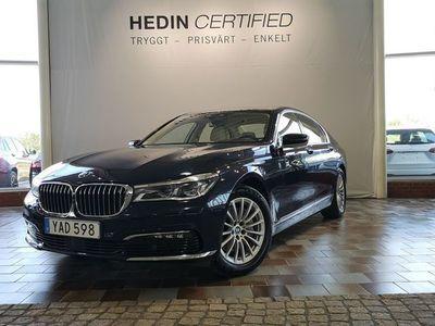 begagnad BMW 730 d xDrive // Bränslevärmare & Dragkrok //