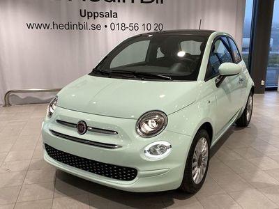 begagnad Fiat 500 1.0 70HK BSG SERIE 8 GLASTAK