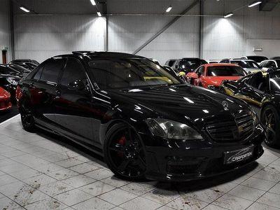 begagnad Mercedes S420 LONG AMG 65 OPTIK GRYM SP