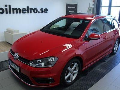 begagnad VW Golf Sportscombi R-Line/AppConnect/V-Hjul