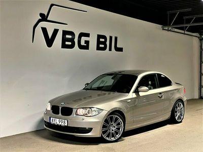 begagnad BMW 120 Coupé d Steptronic Advantage Comfort 177HK