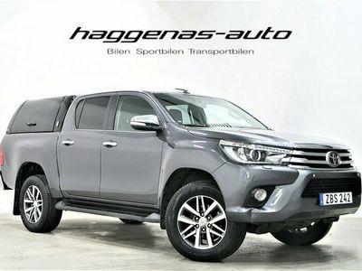 begagnad Toyota HiLux Dubbelhytt 2.4 / Premium / Kåpa / Drag