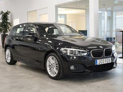 begagnad BMW 120 i 5-door M Sport / Auto / Läder / HI -19