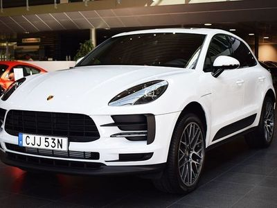 begagnad Porsche Macan // Facelift