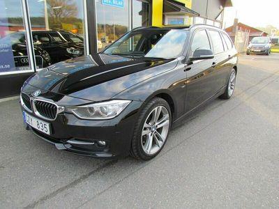 begagnad BMW 318 d Touring Sport line 143hk
