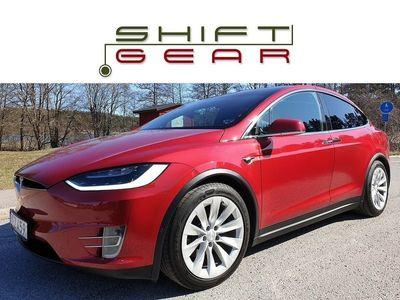 begagnad Tesla Model X 90D OPTICOAT XPEL AP2 LEASEBAR