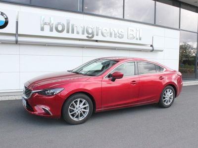 begagnad Mazda 6 Sedan, 2.5 192 hk, aut. Optimum, svart skinn