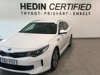 begagnad Kia Optima Kia Optima Sport Wagon Hybrid P-HEV 2.0 Hybrid Automatisk, 205hk,