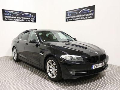 begagnad BMW 525 D F10 AUTOMAT 204HK NYSERV 1113kr/mån -10