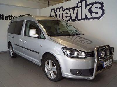 begagnad VW Caddy Maxi Life TDI 140hk DSG 4M Drag