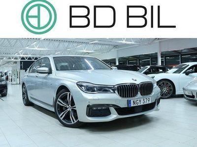 begagnad BMW 740 d xDrive M-SPORT LASERLIGHT 2016, Sedan 617 900 kr