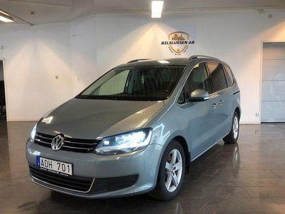 begagnad VW Sharan 2.0 BlueTDI 7-sits 140hk 18000MIL