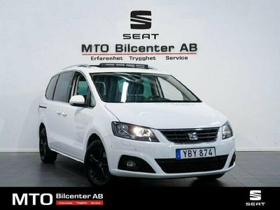 begagnad Seat Alhambra 2.0 TDI DSG Sekventiell Euro 6 7-sits 150hk
