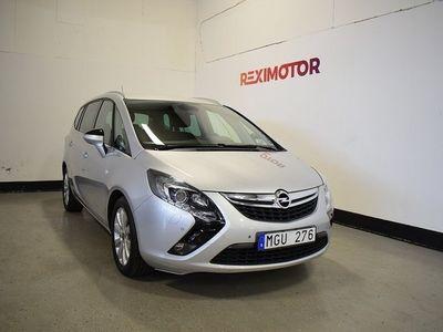 begagnad Opel Zafira Tourer 7-sits 140hk Besiktad