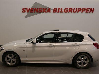 brugt BMW 120 D M-Sport Euro6 Aut P-sensorer LM S+V-Hjul Halvkombi