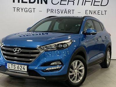 brugt Hyundai Tucson 2.0 CRDi Aut 4wd Premium | Bränslevärmare | Vinterhjul