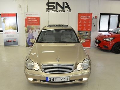 usata Mercedes 240 C-KlassAutomat 170hk DRAG Taklucka 0%Ränta