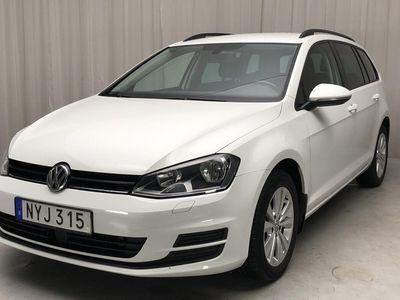 begagnad VW Golf Variant VII 1.6 TDI BlueMotion Sportscombi (110hk)