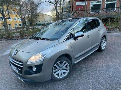 begagnad Peugeot 3008 2.0 Diesel-Hybrid AWD Automat 200HK Ny besiktad