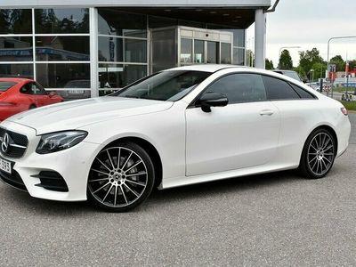 begagnad Mercedes E300 COUPÉ AMG DIGITAL DISPLAY 245HK