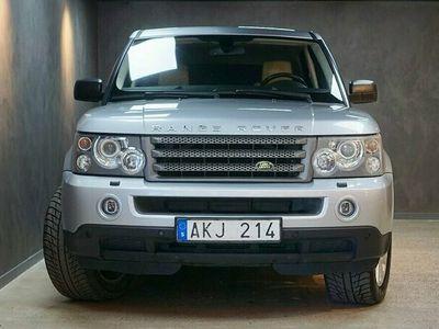 begagnad Land Rover Range Rover Sport 2.7 TDV6 4WD Navi Taklucka Drag