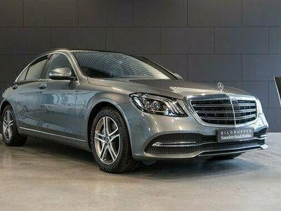 begagnad Mercedes S450 S Benz4Matic Värmare låga skatten 2018, Sedan Pris 599 000 kr