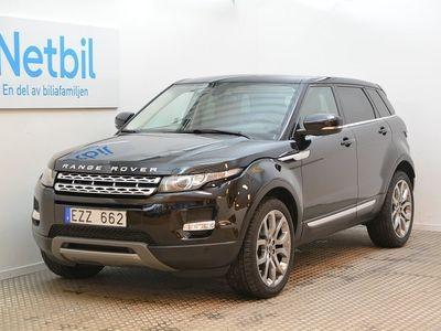 begagnad Land Rover Range Rover evoque 2.2 SD4 4WD 190
