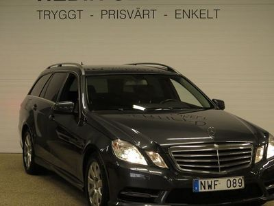 begagnad Mercedes 220 E-KLASSCDI AMG STYLING V-HJUL NYSERVAD