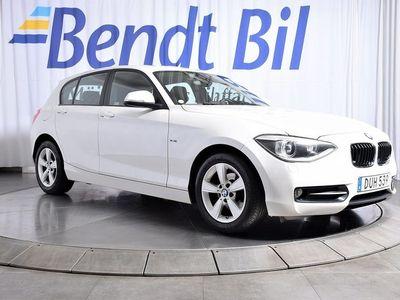 begagnad BMW 118 d 5-dörrar / Aut Sport line 143hk