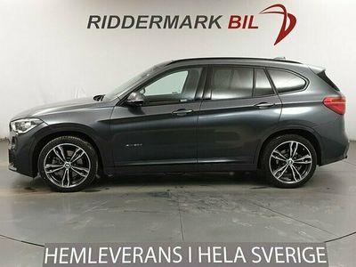 begagnad BMW X1 xDrive20d M Sport Pano Navi HuD Drag HiFi EU6 190hk