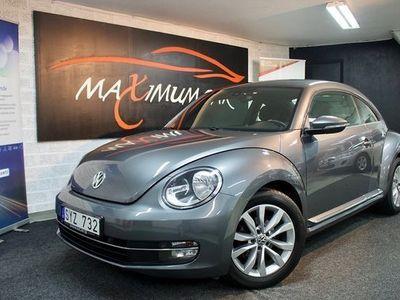 begagnad VW Beetle The 1.2 TSI Comfort Design plus 2012, Halvkombi Pris 94 900 kr