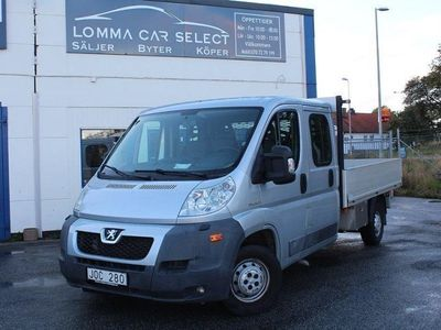 begagnad Peugeot Boxer Chassi Double Cab 2.2 HDi 7-sit -09