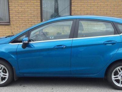 begagnad Ford Fiesta Titanium1,0 80hk manuell -14