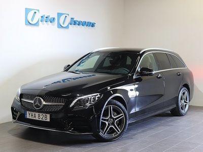 begagnad Mercedes C220 D 4-MATIC AMG Premium Aut, Nav, Drag, Värmare