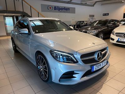 begagnad Mercedes C220 d 9G-Tronic AMG Euro 6 19