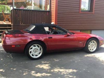 begagnad Corvette C4 cab
