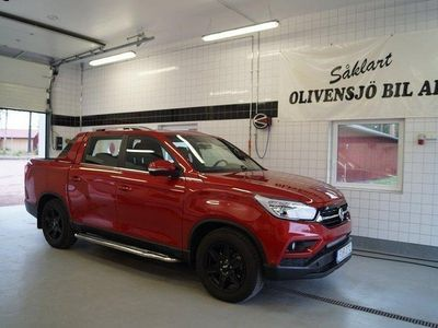 begagnad Ssangyong Musso 2,2 XDI EX AUT 4WD 180HKR -18