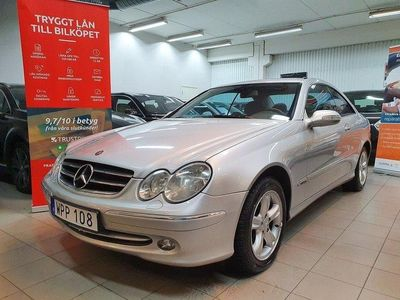 begagnad Mercedes CLK200 Kompressor Coupé Automat 163hk Besiktad
