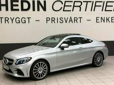 begagnad Mercedes C220 - Benzd Coupé 194Hk 4Matic AMG Premium