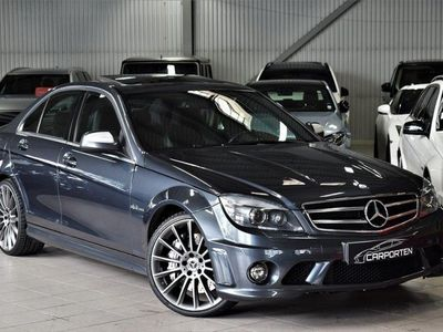 begagnad Mercedes C63 AMG AMG SEDAN SVENSKSÅLD 457HK -08