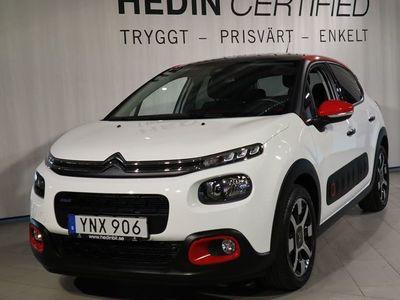 begagnad Citroën C3 1,2 VTi (82hk) Shine *Panoramatak*