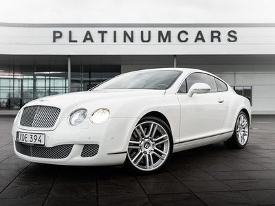 begagnad Bentley Continental GT 6.0 W12 Automat 2010, Sedan 698 000 kr
