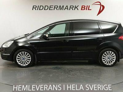 begagnad Ford S-MAX 2.2 200hk 7-sits NyKamrem Välservad 5.7l/100km!