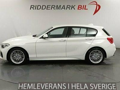 begagnad BMW 120 i 5-door M Sport Drag Skinn PDC EU6 2019, Halvkombi Pris 247 900 kr