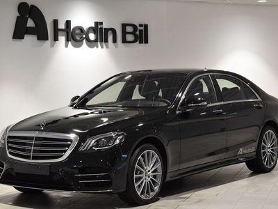 begagnad Mercedes S400 D // Amg-line // 360-Kamera