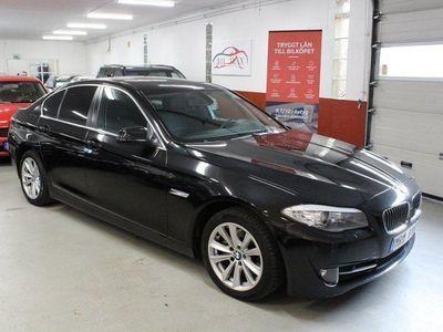 begagnad BMW 520 d Sedan 184hk Nybesiktad Baslåda -12