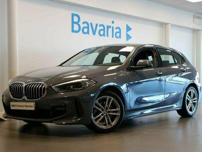 begagnad BMW 118 i 5-d M-Sport Aut Ny 2021, Halvkombi Pris 278 700 kr
