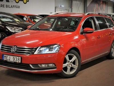 begagnad VW Passat 2.0 TDI | D-värm | Skinn | Kamrem (bytt) | S&V-hjul